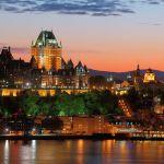 De Montréal à Québec city