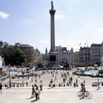 Trafalgar square, une place à voir à Londres