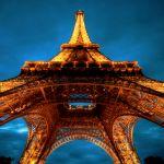 Week-end dans la ville des lumières parisiennes
