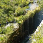 Faire du canyoning dans l'Aveyron