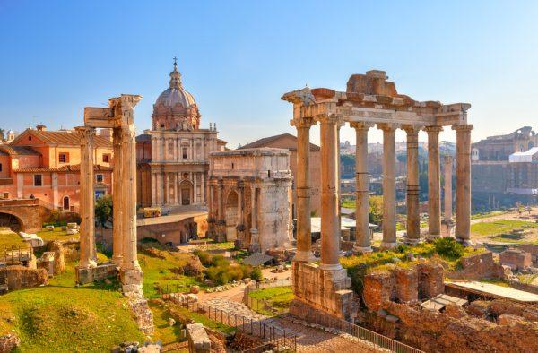 La ville éternelle de Rome