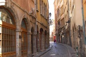 Quartier de Saint Jean dans le Vieux Lyon