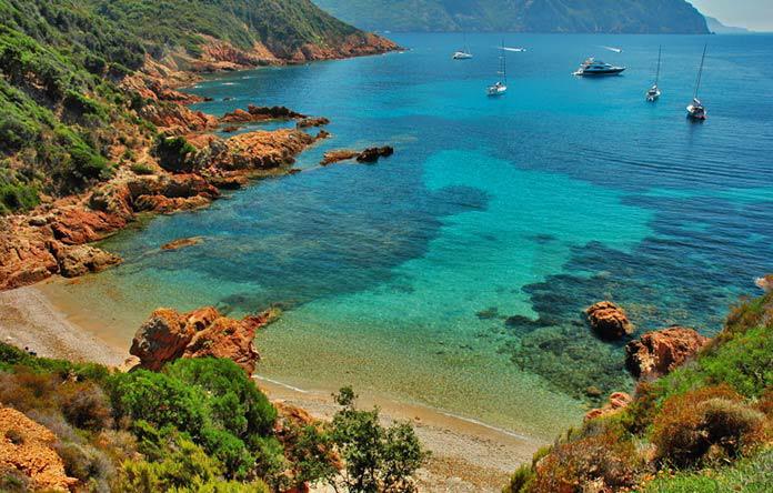 belles plages de la Corse