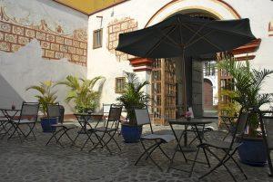 Restaurant au Pérou