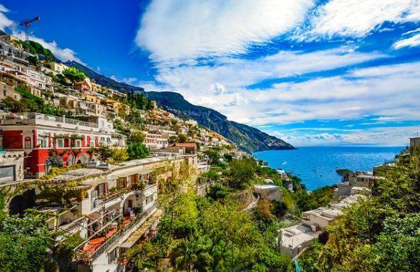 Positano sur la côte Amalfitaine