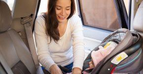 voyage avec un siege auto