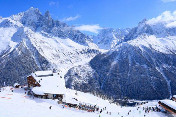 La station de ski de Chamonix