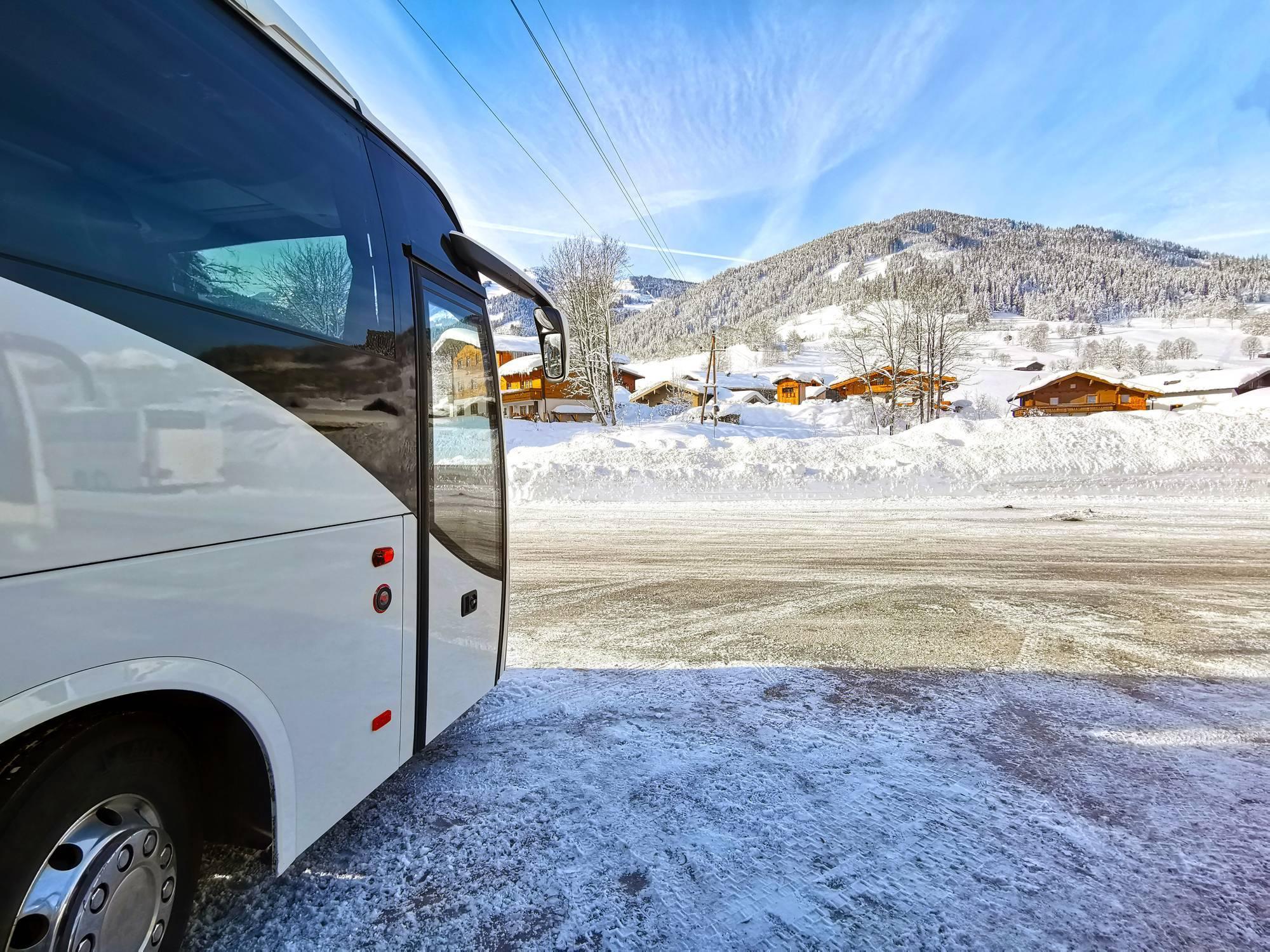 trajet bus montagne