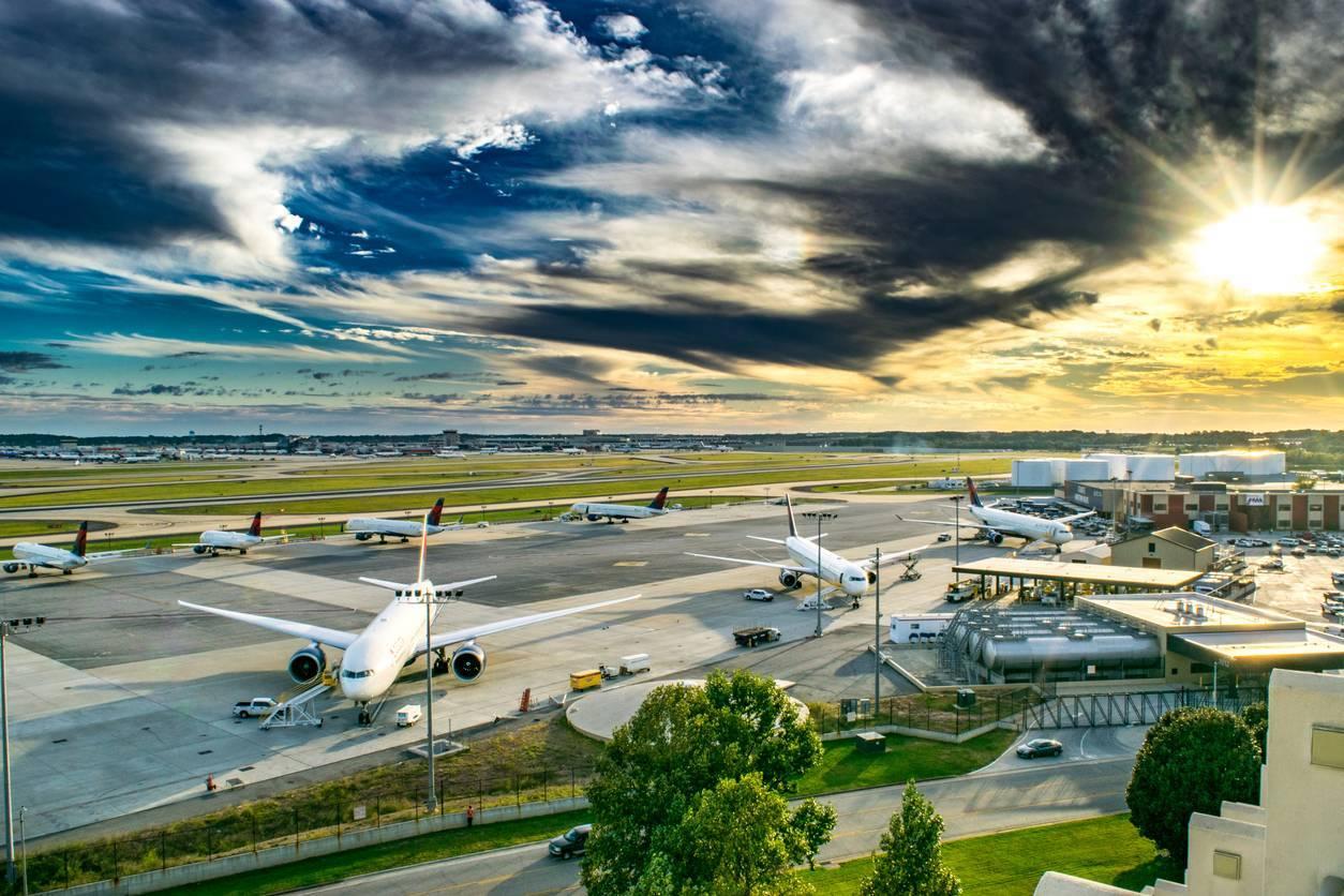 parking aéroport voyage en avion